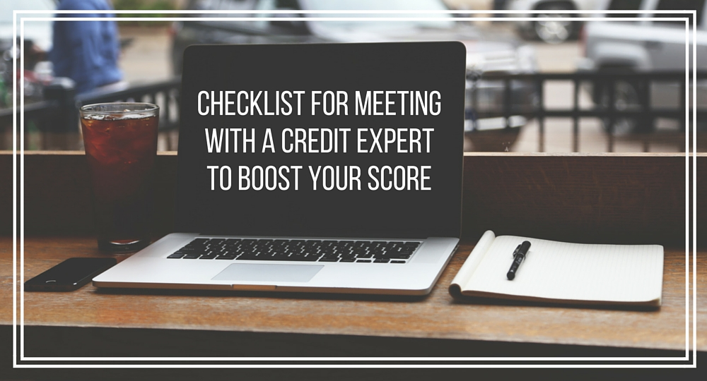 meeting with a credit expert
