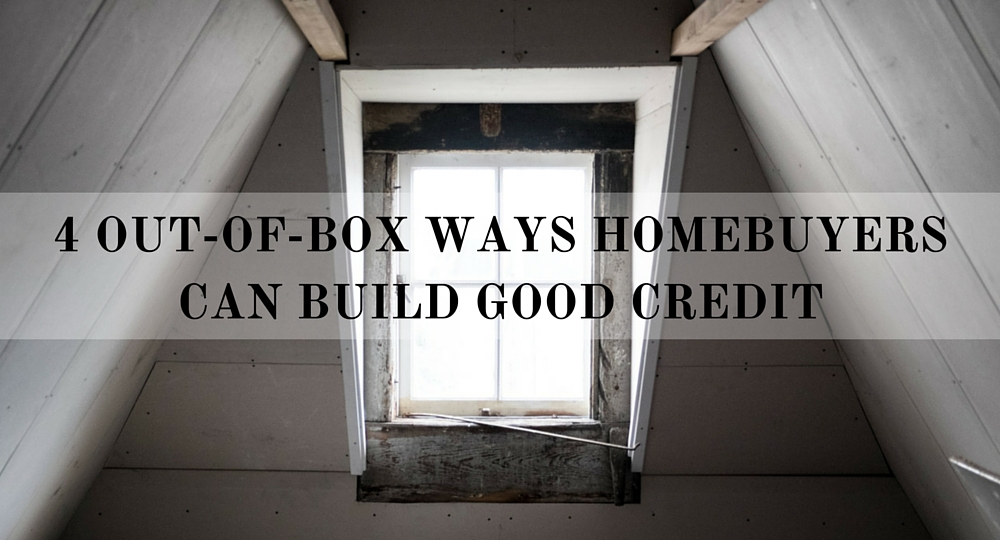 ways homebuyers can build good credit