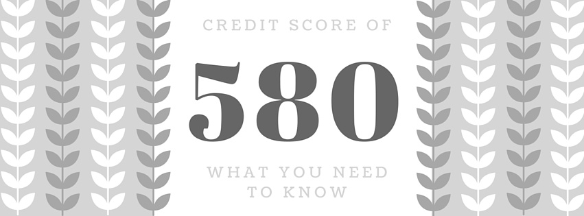 Credit Score of 580: What It Means For Loans & Credit Cards