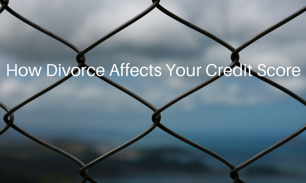 how divorce affects your credit score