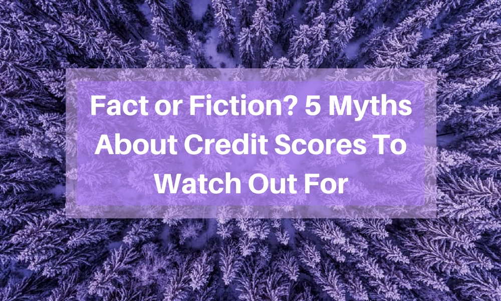Fact or Fiction 5 Myths About Credit Scores To Watch Out For