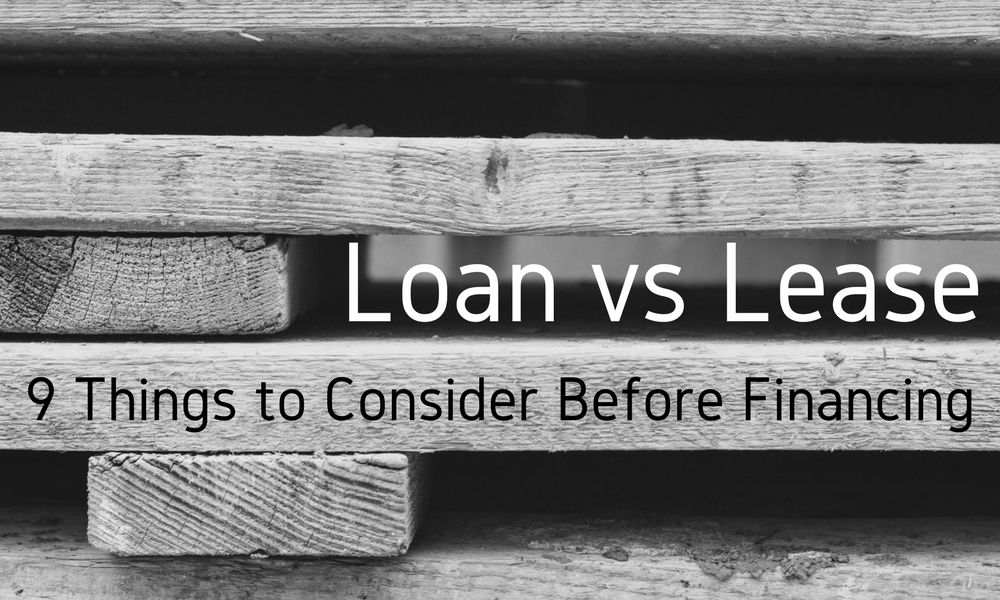 Loan vs Lease