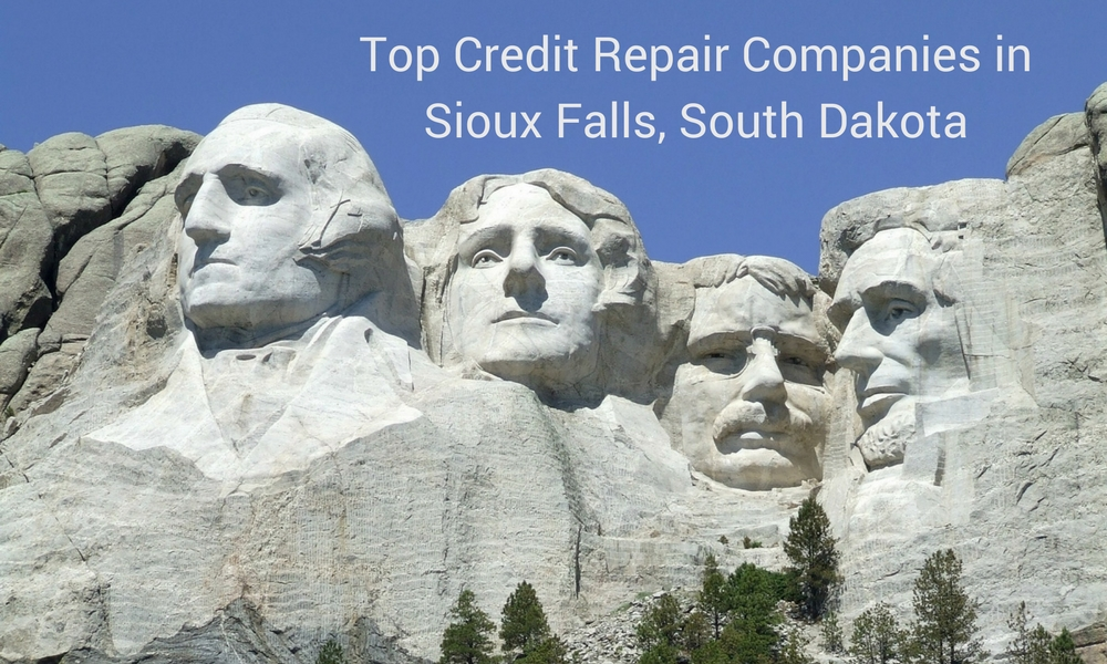 top 4 credit repair companies in Sioux Falls
