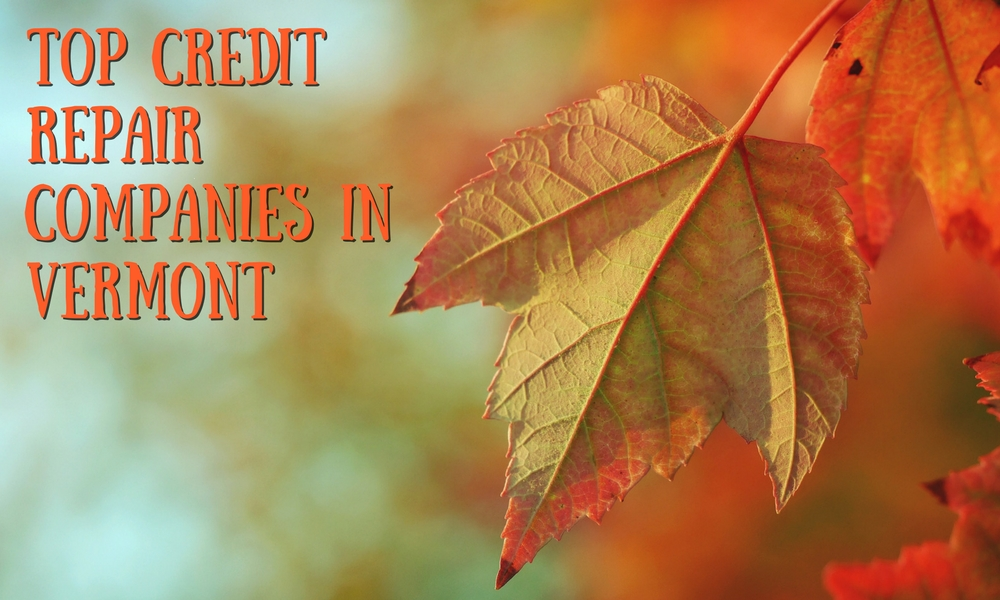 Top credit repair companies in Vermont